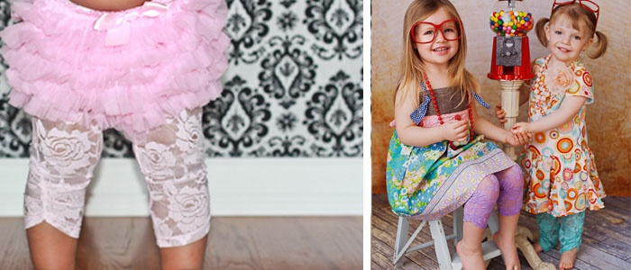 $9  Lovely Lace Leggings - Spring Lace Leggings - 2 New Colors and Sizes 6 Months to 6 Years!
