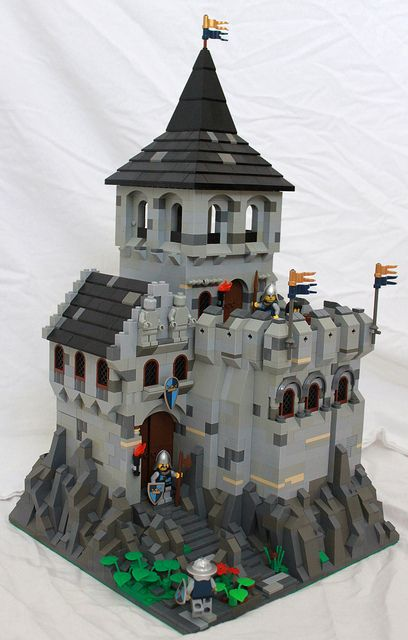 Solid, mid-sized castle