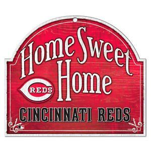 Cincinnati Reds Wood Sign - Arched Home