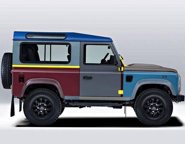 Пол Смит «раскрасил» последний Land Rover Defender