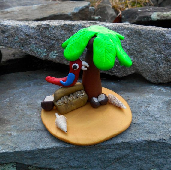 Pirate Cake Topper Island Treasure Chest by BlessingsfromHeaven7