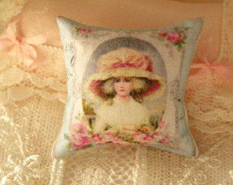 cuscino in miniatura in scala 1/12 per casa di bambole- dollhouse miniature cushion