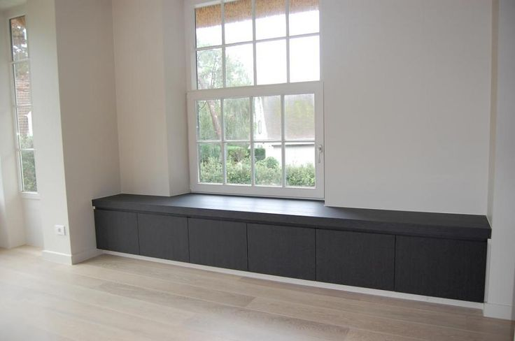 'Could make for a very cool contemporary mudroom bench with storage. Designed by Lievens Interiors. Dirk Lievens Interieurarchitect. Realisatie Knokke Heist (Click on photo for larger image.) Photo found here: http://www.dirklievensinterieur.be/woningen.php