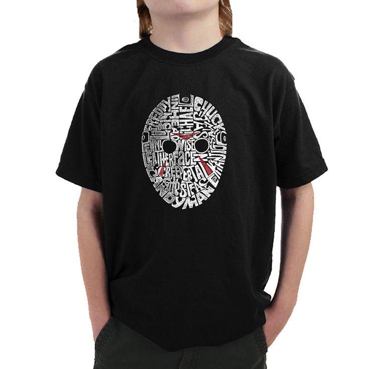 Los Angeles Pop Art Boys' Slasher Movie Villians T-shirt