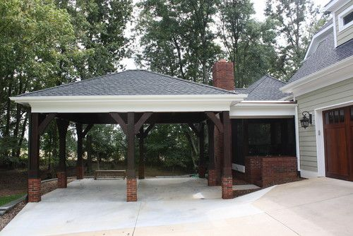 I Like Carport Patio Openness To Keep Riverview From