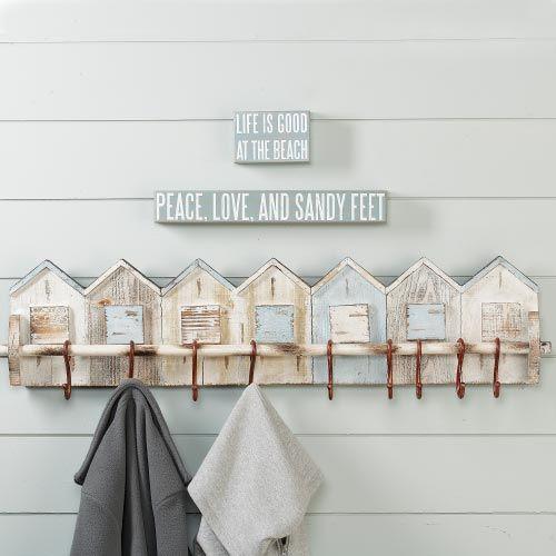 Beach House Wall Rack
