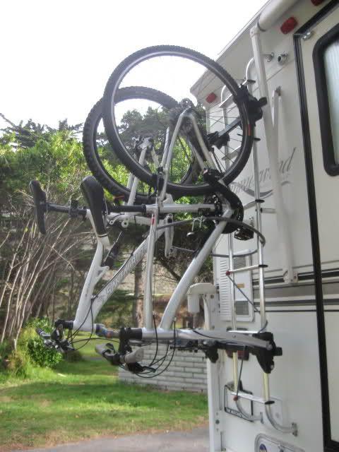 Rv Net Open Roads Forum Truck Campers Hanging Bike Rack To
