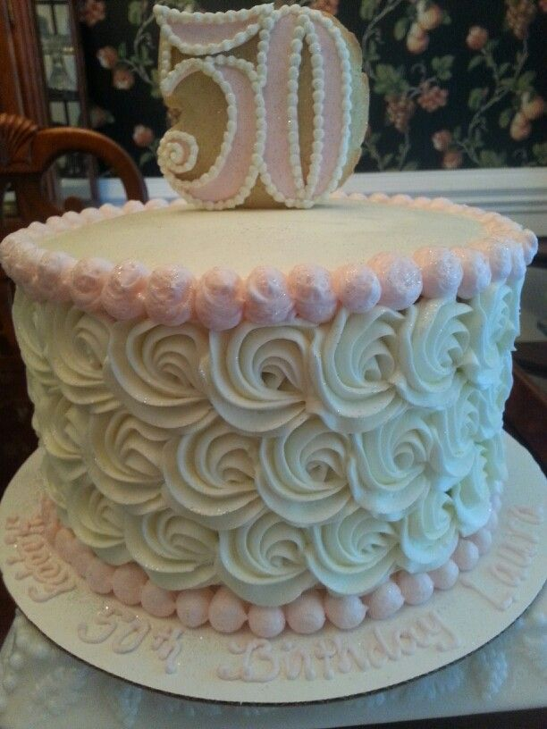 50TH Birthday cake...