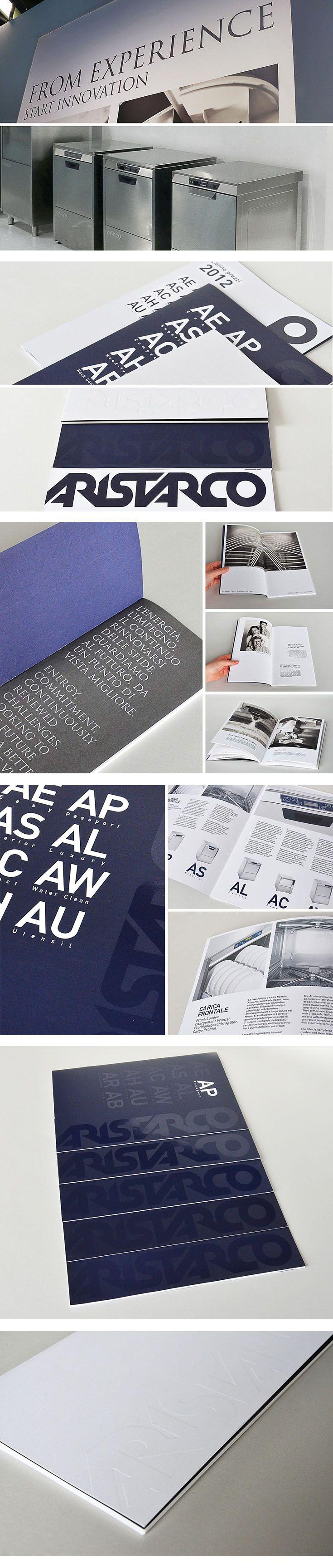 Aristarco, un progetto #effADV - Aristarco, effADV project - #printing #print #catalogue #branding