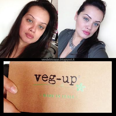 Face of The Day con: Veg-Up e tanti altri prodotti Bio #swatches #consiglibio #makeupbio