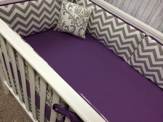 Baby bedding Crib Bedding Cot Set Mini by BeautifulBebeDesigns