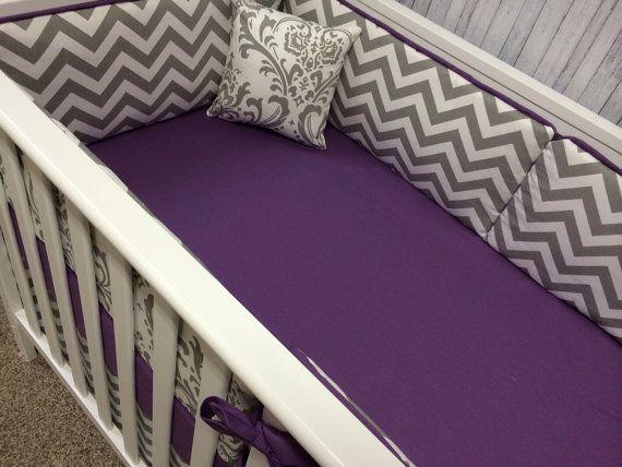 Baby bedding Crib Bedding Cot Set Mini by BeautifulBebeDesigns