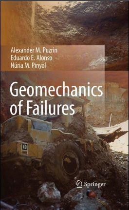 Geomechanics of Failures, de Puzrin, Alonso y Pinyol, un libro muy recomendable