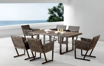 Outdoor Furniture Sets - Outdoor  Dining Sets - Cali Dining Set For Six