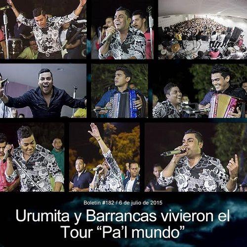 """@Churo_Diaz - Urumita y Barrancas vivieron el Tour """"Pa'l mundo"""" - @vallenateando - http://vallenateando.net/2015/07/06/urumita-y-barrancas-vivieron-el-tour-pal-mundo/ …"""