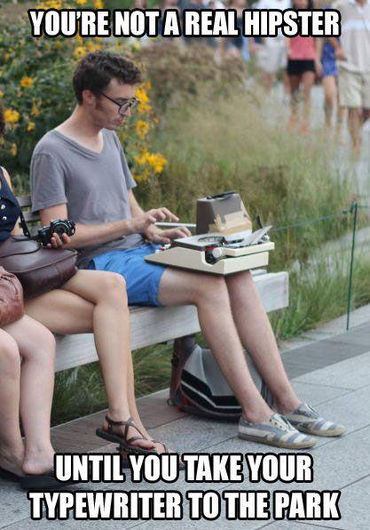 real hipsters bahahaha