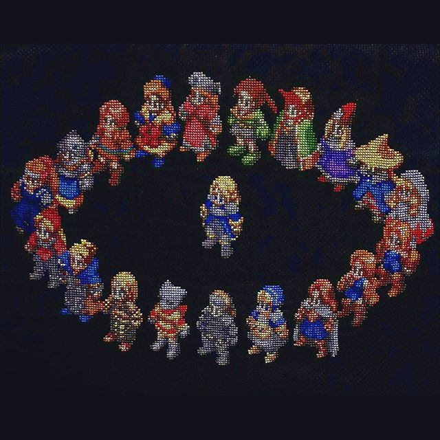 aiccio always seriously impresses me with their #FinalFantasyTactics #crossstitch http://damn...pic.twitter.com/IsQAasIE3S