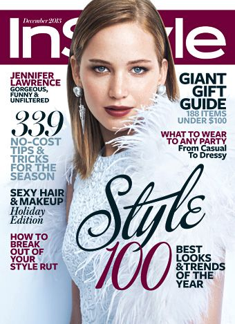 The gorgeous, talented and often-unfiltered Jennifer Lawrence — who made news earlier this week for chopping her long locks into a chic pixie — graces InStyle's December cover, hitting newsstands next Friday, November 15.