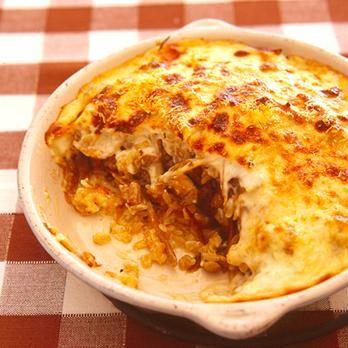 とりごぼうドリア   藤井恵さんのグラタン・ドリアの料理レシピ   プロの簡単料理レシピはレタスクラブニュース
