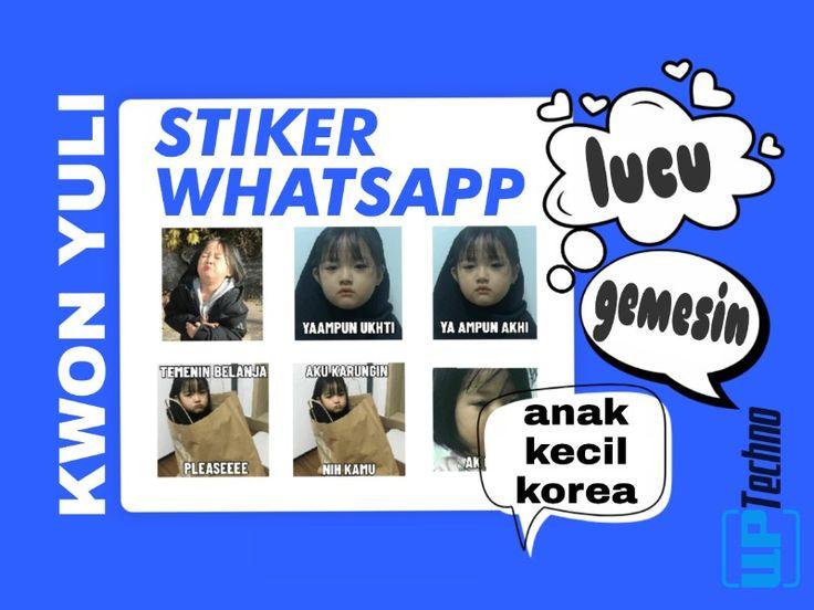 Download Stiker Whatsapp Anak Kecil Korea Kwon Yuli Lucu Stiker Stiker Lucu