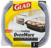Reusable Disposable Baking Pans - freezer, microwave and oven