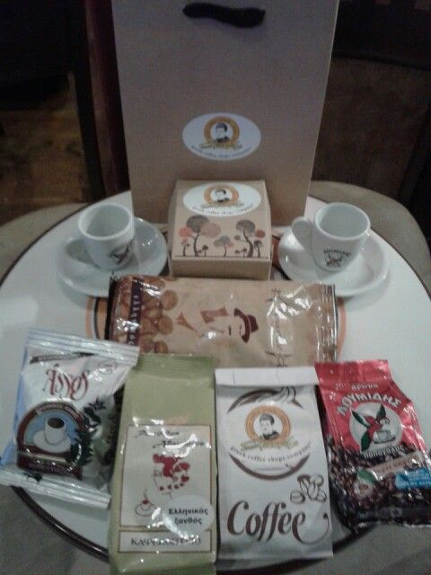 Συσκευασία Δώρου ( καφέδες της Ελλάδας )