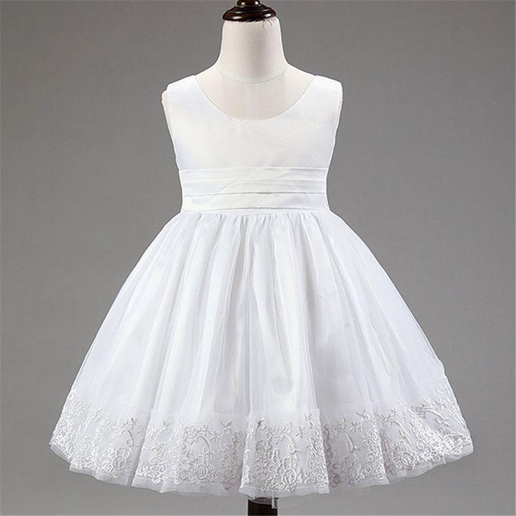 $19.59 (Buy here: https://alitems.com/g/1e8d114494ebda23ff8b16525dc3e8/?i=5&ulp=https%3A%2F%2Fwww.aliexpress.com%2Fitem%2F2016-Korean-lace-bow-s-children-dress-baby-birthday-princess-dress%2F32692818264.html ) Girls Dress Princess dress children's wear Party veil Big bow girl wedding flower Baby girls dress pink white for just $19.59