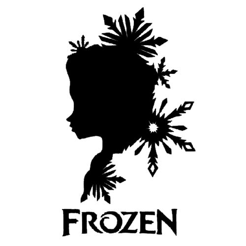 Frozen Die Cut Vinyl Decal PV1169 for Windows, Vehicle Windows, Vehicle Body Surfaces or just about any surface that is smooth and clean
