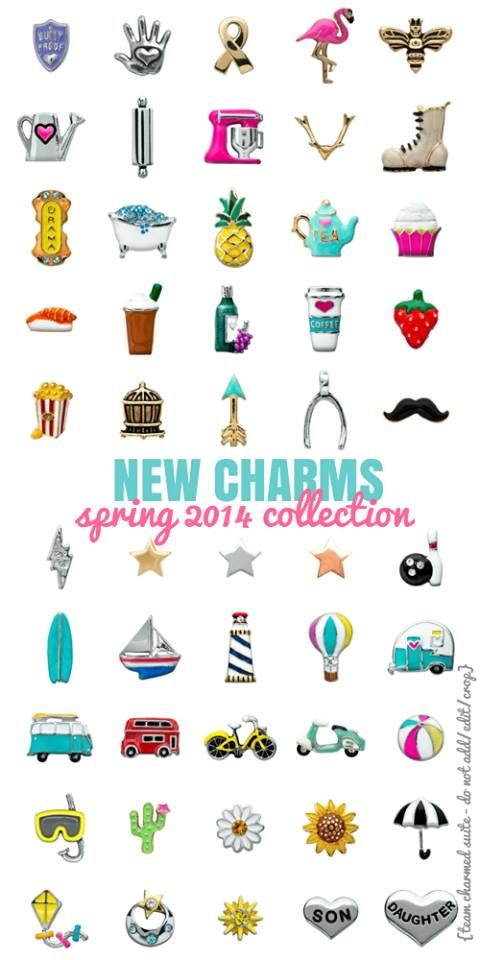 Origami Owl Spring 2014 Collection has so many great new charms! Which one is your favorite? Follow me on FB: http://facebook.com/rachelscharms123 Shop at: http://RachelsCharms.OrigamiOwl.com