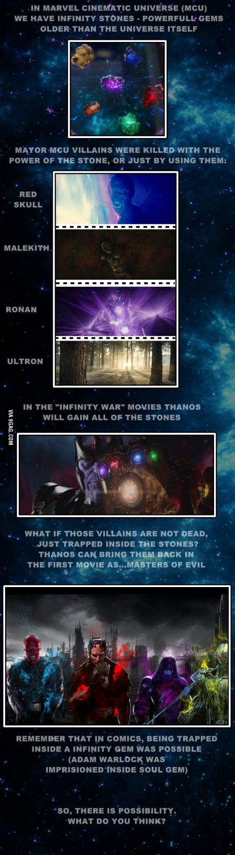 """Avengers: Infinity War part I"" idea on 9GAG. This is something that I want to look forward to!"