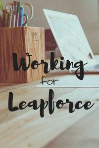 Working for Leapforce has been my favorite way to work from home as a freelancer! It offers flexibility for me to earn extra income on my schedule. PIN this for later!