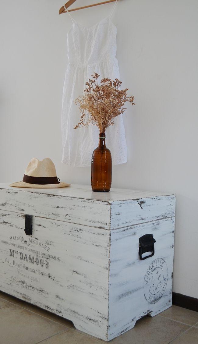 Las 25 mejores ideas sobre baul de madera en pinterest - Decorar baul vintage ...