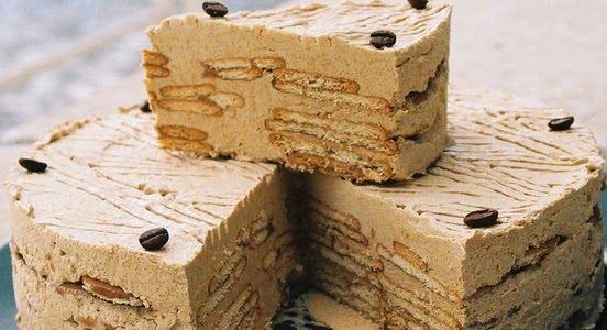 Varomeando: Tarta de galletas y café