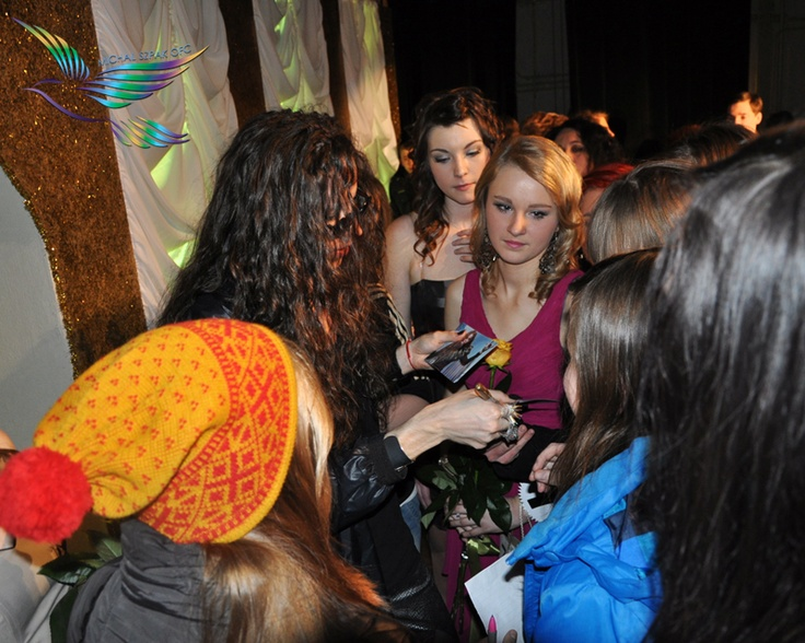 Michal Szpak & his fans