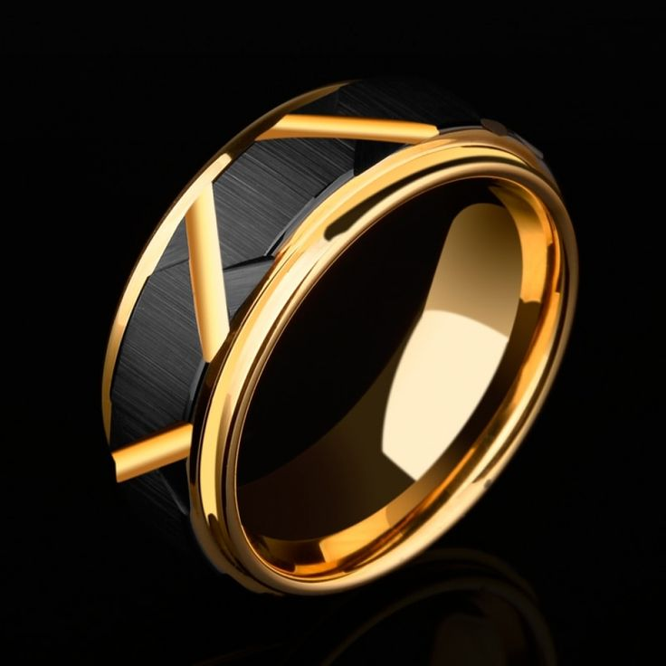 2018 New Arrival 8mm Width Tungsten Carbide Wedding Ring ...