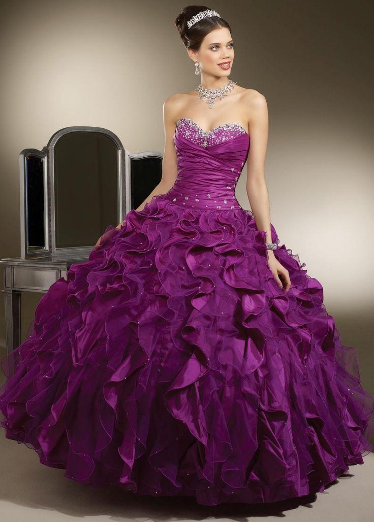 16 best Vestidos 15 años images on Pinterest   Bridal dresses, Cute ...