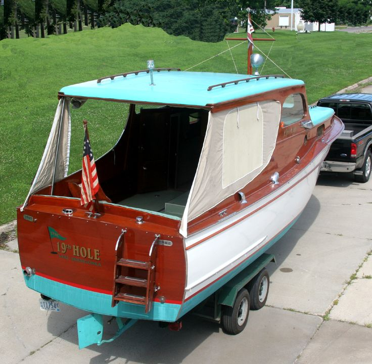 Classic Cabin Cruiser For Sale - WoodWorking Projects & Plans