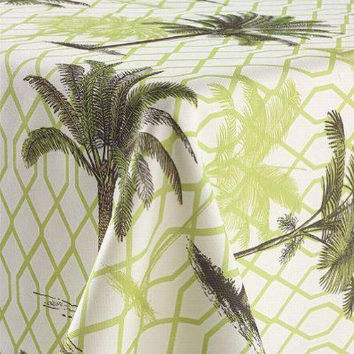 Sonoma Indoor Outdoor Palm Fabric Umbrella Tablecloth Palmetto 70 R Table  Cloth Sonoma Http:/