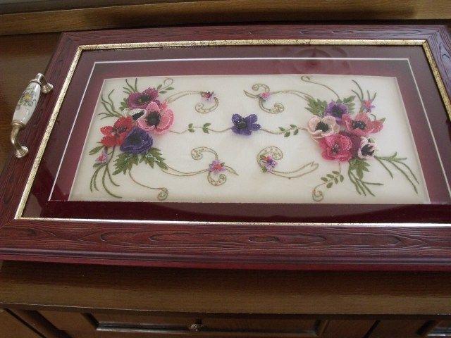 Anemon çiçekleri..Yeni modelim...