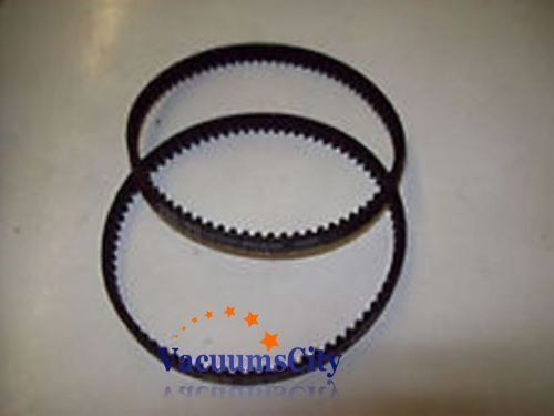 #Bissell Pro-heat Steam Vacuum Geared Brush Belts 2 Pk { 2 Belts Only } Aftermarket Part # 18-3300-02, 18-3302-02. Fits With Models 1622,1623,1623-1,24A3,1699,16...