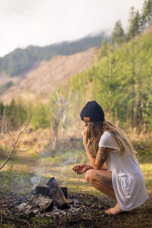 A Woman into the wild