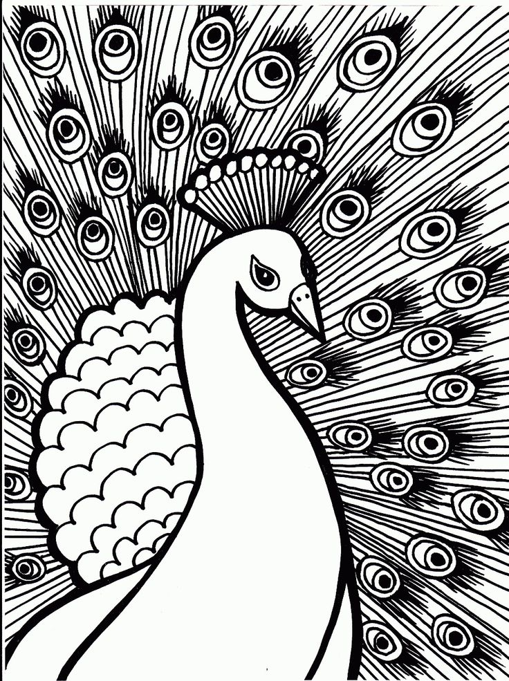 Hard Coloring Pages To Print Free Printable