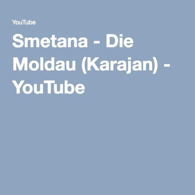 Smetana - Die Moldau (Karajan) - YouTube
