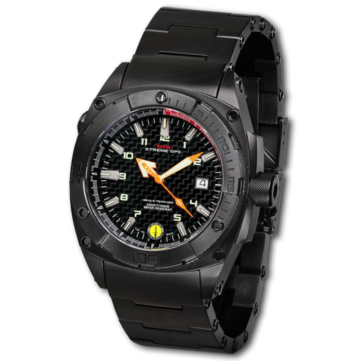 MTM XTREME OPS BLACK SEAL MILITARY WATCH
