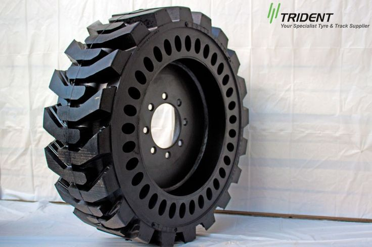 Advantage of solid skid steer tires is that they enjoy long life