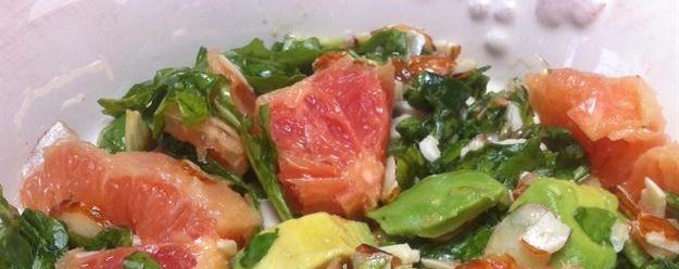 Arugula, Avocado and Grapefruit Salad