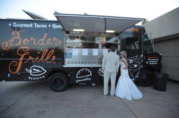 Border Grill Catering & Border Grill Truck  Los Angeles, California Wedding
