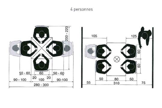 10 best maison table cuisine dimensions images on. Black Bedroom Furniture Sets. Home Design Ideas