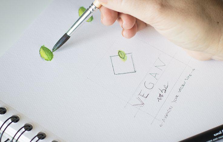 Novo logo para Vegan Vibe.