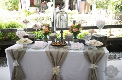 Cake Table For Wedding Reception